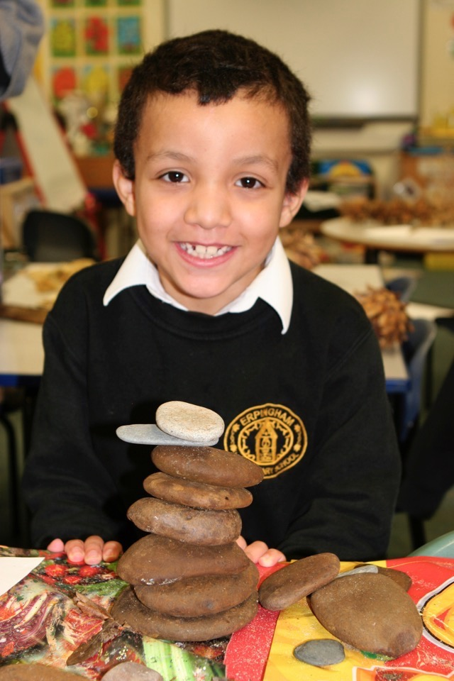 110119 Forest School Andy Goldsworthy 032