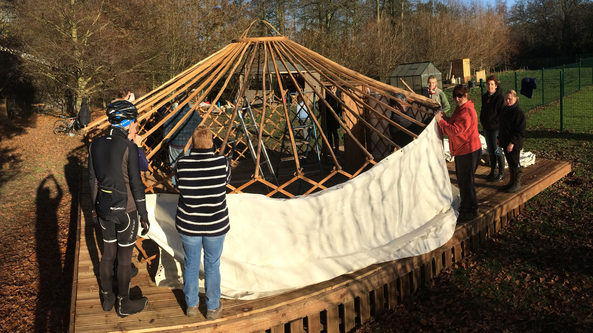 Yurt-Building-Fun