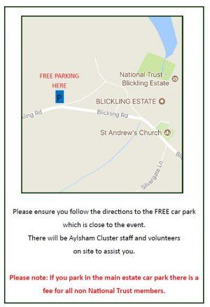Blickling Family Event (Aylsham Cluster Trust)