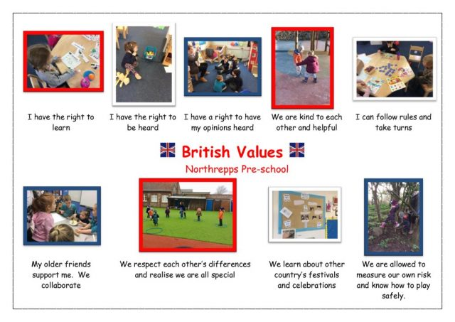 thumbnail of British Values at Northrepps Pre-School