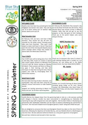 thumbnail of Spring Newsletter 19