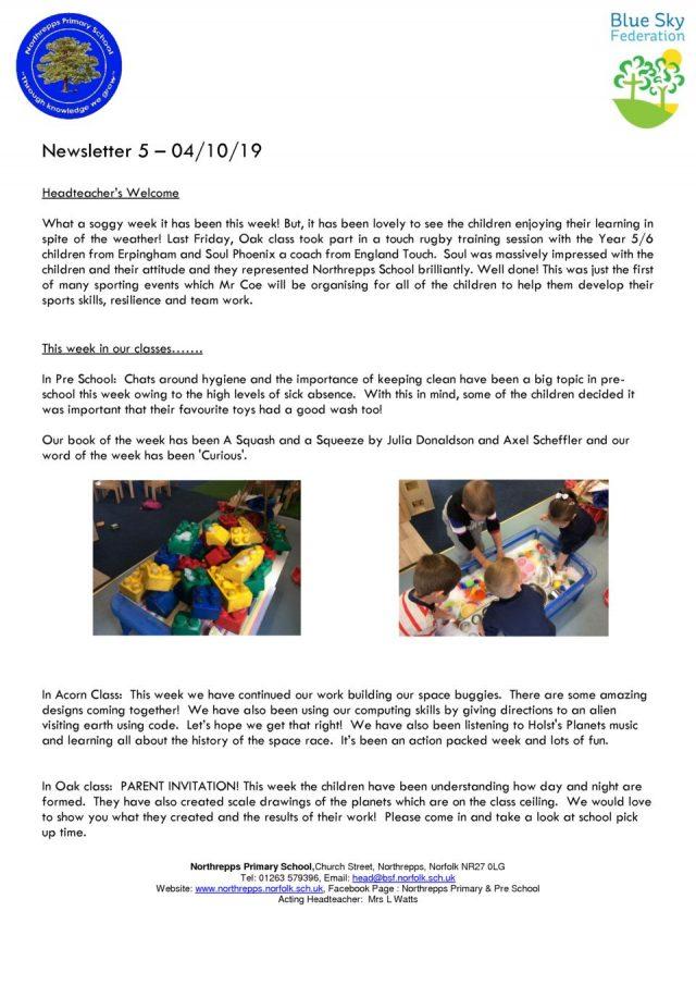 thumbnail of Digital Newsletter 5