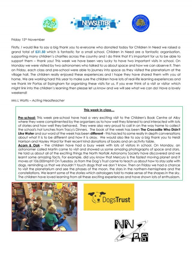 thumbnail of NPS newsletter 15.11.19
