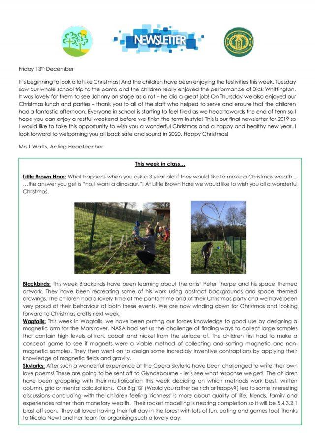 thumbnail of EPS newsletter 13.12.19